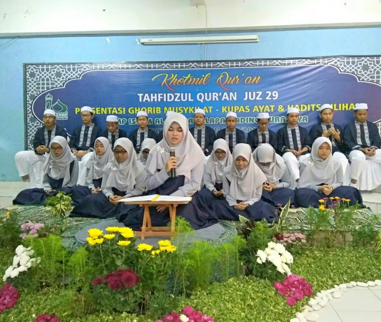 Khotmil Quran Smpi Alazka